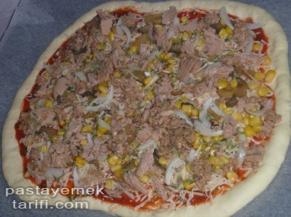 Ton Balikli Pizza